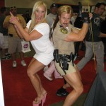 Alexis Golden and Jack Lawrence as Reno 911 Cop
